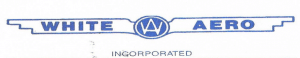 White Aero Inc Logo